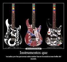 Resultado de imagen para instrumentos de rock