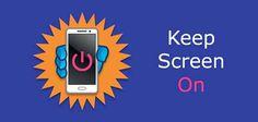 """KEEP SCREEN ON - un applicazione utilissima per smartphone Android Ecco un app che potrebbe tornare molto utile!  """"Keep Screen On"""" per Android vi permette di tenere lo schermo attivo durante l'utilizzo delle vostre applicazioni preferite (evitandovi di dover inter #android #utility #applicazioni #schermo"""