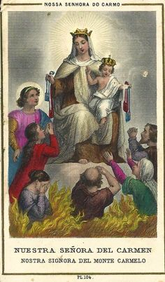 July 16th our Lady of Mt Carmel