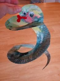 Eve and the Snake craft