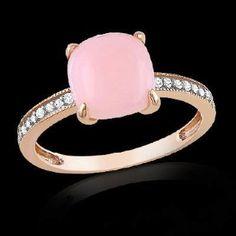 Pink stone diamond ring!!!!!!