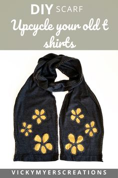 Make a scarf from an old t shirt