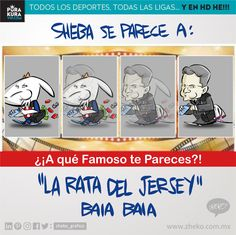 """#ElCartonDelDia para @purakuraweb """"SHEBAS A QUE FAMOSO TE PARECES"""" @chivas #Chivas #AqueFamosoTePareces #BradyJersey Zheko Caricaturista"""