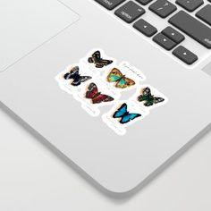 Nymphalidae butterflies Sticker