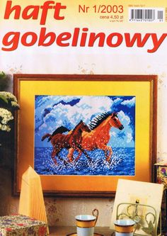 (1) Gallery.ru / Фото #1 - 2003 01 - tymannost Cross Stitch Magazines, G 1, Embroidery, Painting, Journals, Cross Stitch, Dots, Lugares, Painting Art