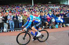 2014 tour-de-france photos stage-02 - Andrew Talansky (Garmin - Sharp) in York