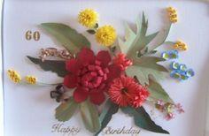 Wild Flowers of Australia Quilled and Sculptured by Carolyn Rakowski-pinterest