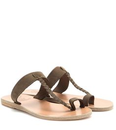 Ancient Greek Sandals Melpomeni leather sandals