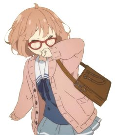mirai kuriyama screenshots - Google Search H Anime, Anime Angel, Anime Love, Girls Characters, Anime Characters, Fictional Characters, Hinata, Mirai Kuriyama, Kyoto Animation