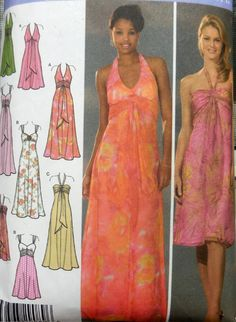 Simplicity 4577  Design Your Own Prom Dress  Special by Clutterina