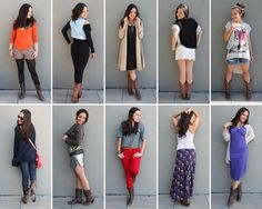 10 Ways to Style Cowboy Boots (+ Giveaway!)