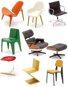 Designer Chair Collection