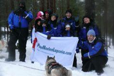 Papanoelenlaponia.com de safari de Huskies.  viaje laponia papa noel, casa de papa noel, viaje laponia