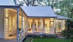 Property Report for 4 Eton Road, Aldgate SA 5154 White Trim, Porches, Modern Farmhouse, Farmhouse Style, Farmhouse Ideas, Weatherboard House, Queenslander, Gazebos, Facade House