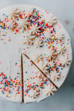 How to Make your Box Confetti Cake Bomb AF! - The Sweet and Simple Kitchen