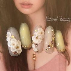 #春 #夏 #ハンド #イエロー #パープル #パステル #ネイルチップ #naturalbeauty #ネイルブック Gorgeous Hair, Beautiful, Fabulous Nails, Flower Nails, Wedding Nails, Nail Designs, Pearl Earrings, Jewelry, Luxury