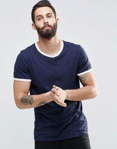 Image 1 - Religion - T-shirt ras de cou à bords contrastants