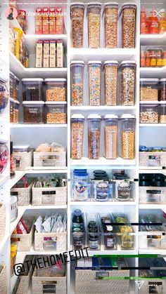 Genius Ways To Arrange Your Pantry - By curtailing your pantry staples and also employing a couple of clever organization methods, you can have the tidy, smooth storage space you've constantly desired-- without investing a ton of money.  #pantryorganization