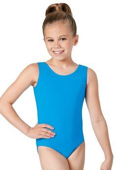 Dance Gear ALICE Children/'s Nylon Lycra Sleeveless Scoop Neck Leotard