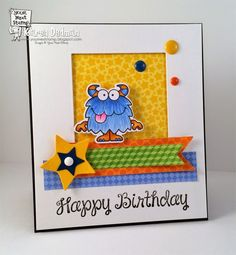 silly monster birthday    Search Results     Your Next Stamp