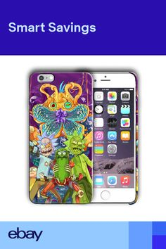 6494dc628b8 Animation Rick and Morty Iphone 4s 5 5s 5c SE 6 6s 7 8 X XS Max XR Plus  Case 04