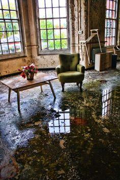 Abandoned, Epson mental asylum by marlene