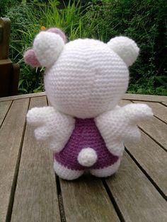 Crochet Hello Kitty Angel