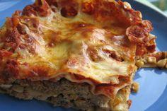 Fiesta taco lasagna