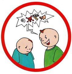 Ne pas crier - Photo de Images pour les règles de vie en classe - Des idées, des infos pour enseigner en maternelle