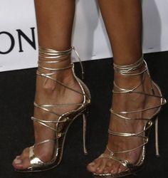 Topsqueen Cross Strap Stiletto Heel Sandals