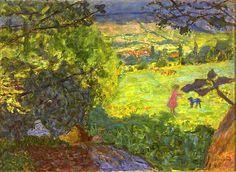 Pierre Bonnard / Landscape