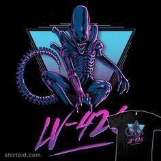 LV-426 | Shirtoid #alien #aliens #ddjvigo #film #movies #postcard #scifi #xenomorph