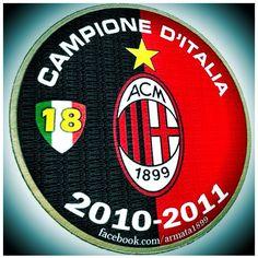 AC Milan 2010-2011 Campione D'italia.