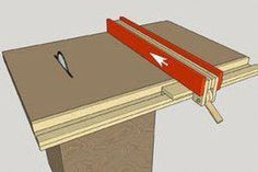 Homemade Table Saw Fence System Easy Simple New Style 25 Steps with Pictures Table Saw Fence, Table Saw Stand, Diy Table Saw, Wood Table, Woodworking Projects That Sell, Woodworking Bench, Woodworking Equipment, Woodworking Shop, Table Saw Station
