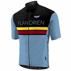 Morvelo Flandrien retro fietsshirt korte mouw