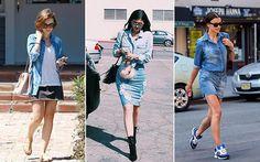 tudo sobre maquiagens: Inspire-se nos looks das famosas para usar o jeans...