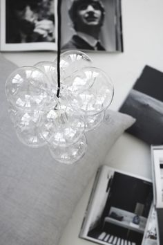 house doctor DIY glassball lamp