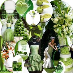 green wedding   Green Wedding Theme