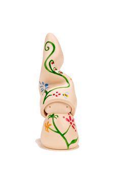 """Garden, Charm, Gnome, Desk Topper, Blessing, Alya OM - 3"""" handmade clay figurine on Etsy, $31.25"""