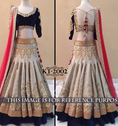 Net Machine Work White Semi Stitched Lehenga - 2002