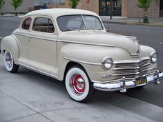 48 Plymouth Coupe!