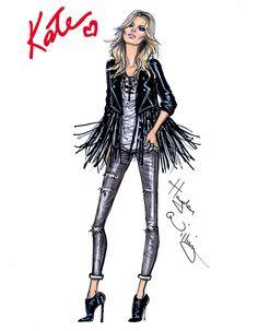 The 'Gig' Look by Hayden Williams for Rimmel London #KateMoss #RimmelLondon #IdolEyes #RimmelbyKate