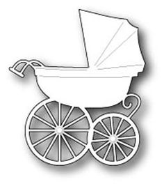 Memory Box Dies -  Baby Carriage