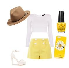 """""""Sunshine"""" by angelagmusic ❤ liked on Polyvore featuring Boutique Moschino, Nly Shoes, Kate Spade and rag & bone"""