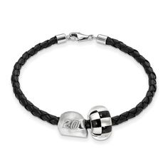 STERLING SILVER LogoArt Official Licensed NASCAR LEATHER BRACELET ONE CROSSED FLAG BEAD 20 MATT KENSETH 3D DRIVER HELMET. Licensed and Official. Sterling Silver,925 Sterling,. NASCAR- 20 Matt Kenseth. Licensed By:NASCAR. Certificate of Authenticity Card Included.