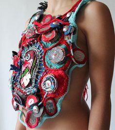 Mona Luison #textile top