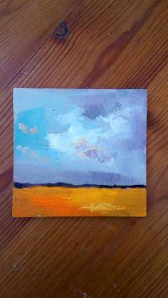 Mira este artículo en mi tienda de Etsy: https://www.etsy.com/es/listing/463285016/landscape-painting-abstract-art-square