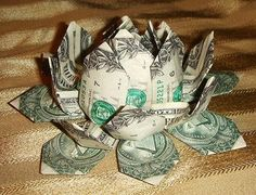 Money Origami, Flower Edition: 10 Different Ways to Fold a Dollar Bill into a Blossoming Bloom « Origami