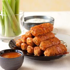 "Tofu Buffalo ""Wings"""