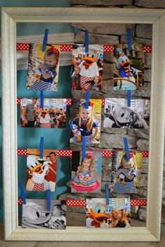Donald Duck Birthday Party Decor, Activities, Food Ideas and More for a Disney Themed Birthday Party Ideas for a Cute Party! 2nd Birthday, Birthday Parties, Birthday Ideas, Donald Duck Party, Daisy Party, Mickey Party, Daisy Duck, Party Photos, Photo Displays